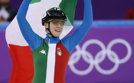 Fontana dramatically claims 500m short-track gold