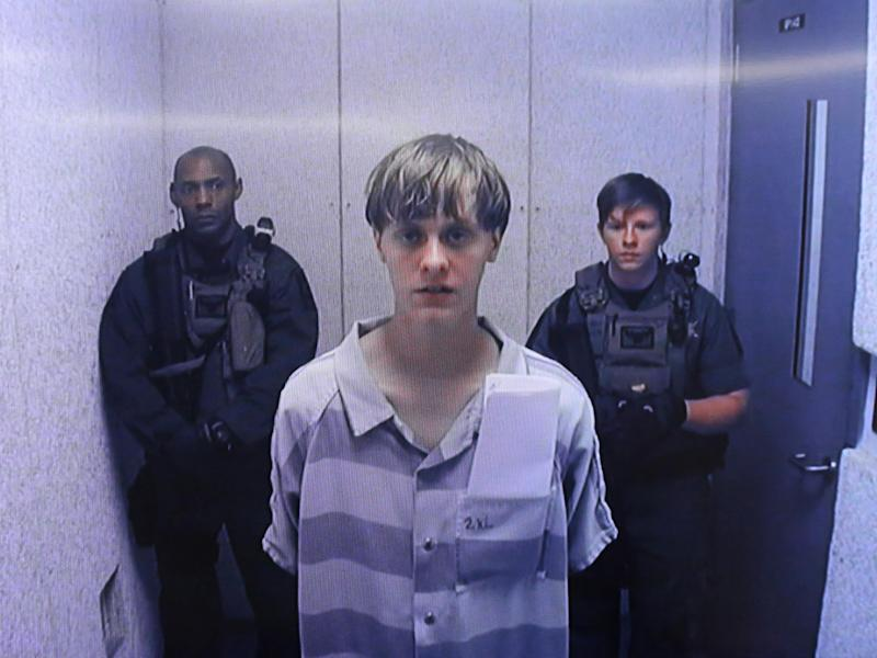Dylann Roof was found guilty of 33 offences including nine counts of murder after he opened fire at the Emanuel African Methodist Episcopal Church in Charleston, South Carolina on 17 June 2015: Getty Images