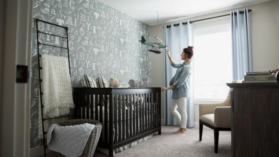 You might want to set boundaries so that the baby's room becomes a safe place away from pets. Source: Getty