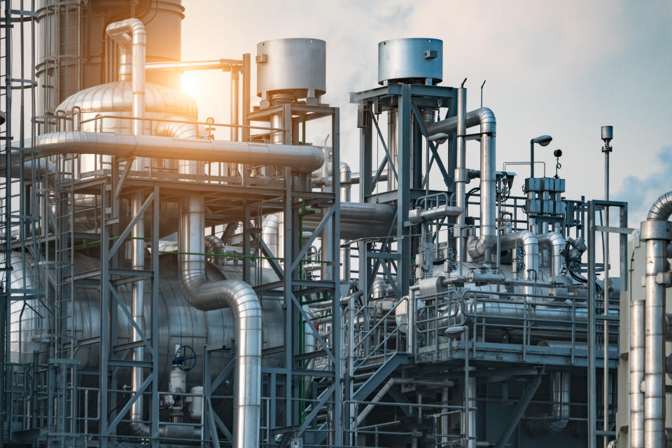 Structure Oil refinery industry