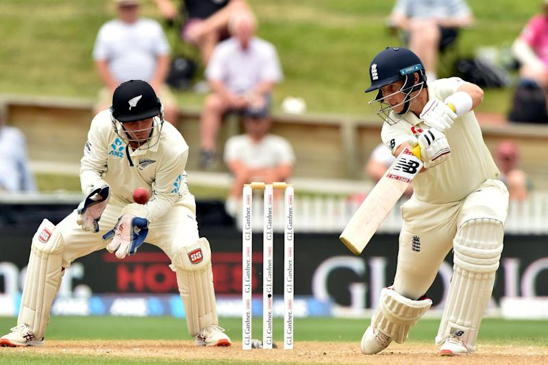 Root moved into the top 10 of England Test run-scorers after the longest innings of his career (AFP via Getty Images)
