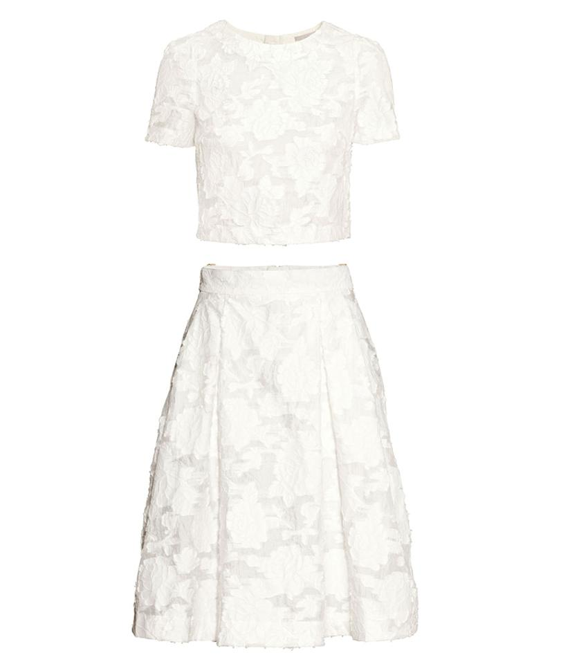 """<p>H&M Embroidered Top and Skirt, $80, <a rel=""""nofollow"""" href=""""http://www.hm.com/us/product/89601?article=89601-C&cm_vc=GOES_WITH_PD#"""">hm.com</a></p>"""