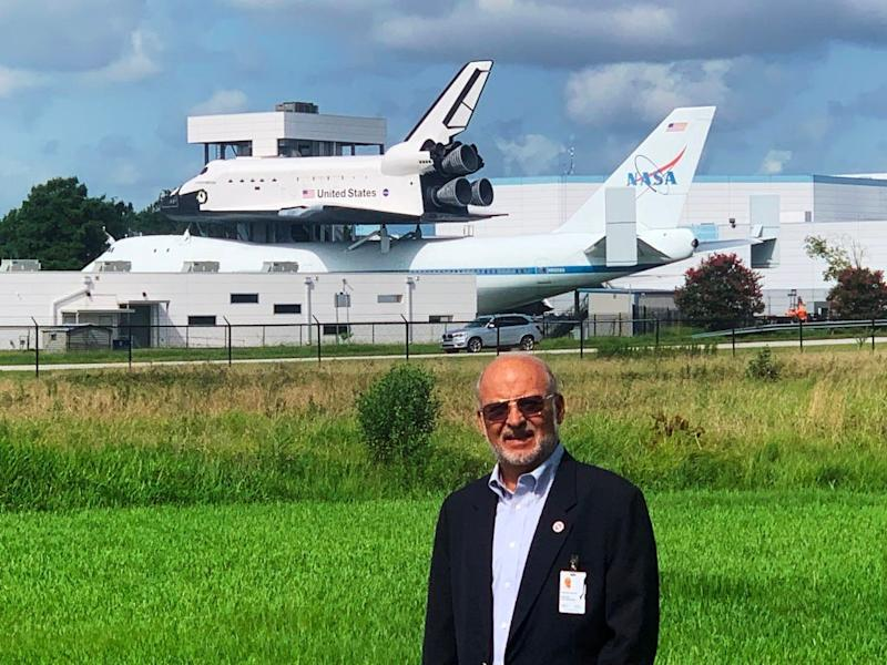 Miguel Hernandez, a longtime engineer for NASA, helped train astronauts on five of the Apollo missions, including the Apollo 11 moon landing.