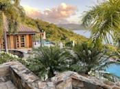 """<p>Just off the coast of St. John lies an idyllic private island waiting to welcome guests seeking rejuvenation and seclusion. This newly opened resort and beach club property features an exclusive-use villa for rent through the middle of July. This luxurious three-bedroom home features picturesque ocean and island views, extensive patios, pool, and large firepit. Plus, each bedroom has their own private outdoor space to enjoy the jewel-toned waters and starry skies. Your villa also comes equipped with a private concierge to help personalize the perfect vacation, be it a solo getaway or family reunion. You'll enjoy private breakfasts in the villa each day, but there is also a waterfront restaurant on the island, along with the ability to book charters to nearby islands day or night.</p><p><a class=""""link rapid-noclick-resp"""" href=""""https://www.lovangovi.com/slocum/"""" rel=""""nofollow noopener"""" target=""""_blank"""" data-ylk=""""slk:Book Now"""">Book Now</a></p>"""