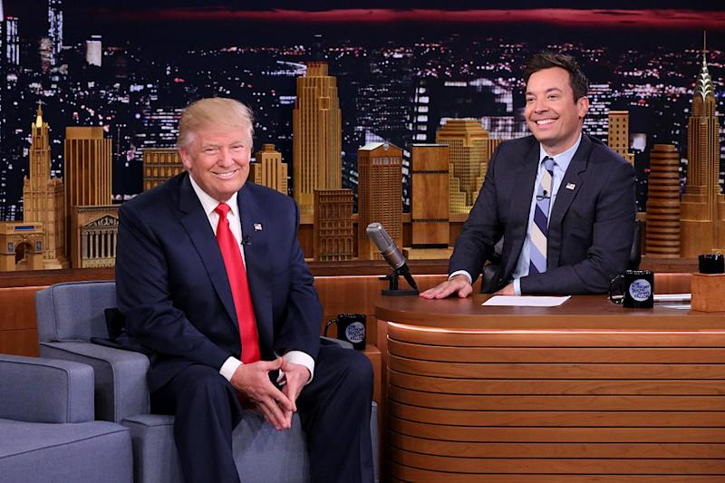 Jimmy Fallon Responds to Donald Trump's Tweet About Him
