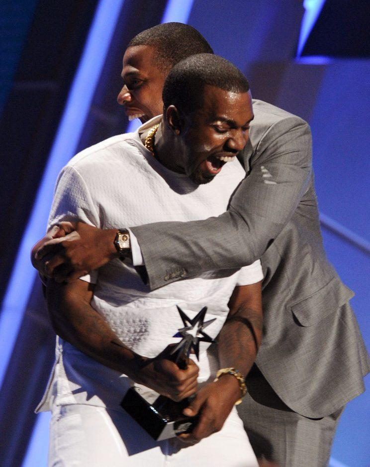 Kanye and Jay Z have always appeared to be the best of friends.