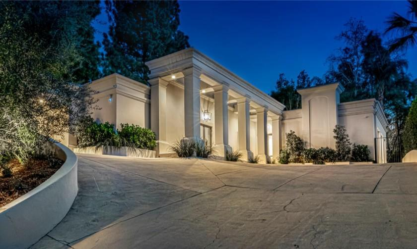 The half-acre estate includes a 5,500-square-foot villa, a swimming pool and a guesthouse that's currently under construction.