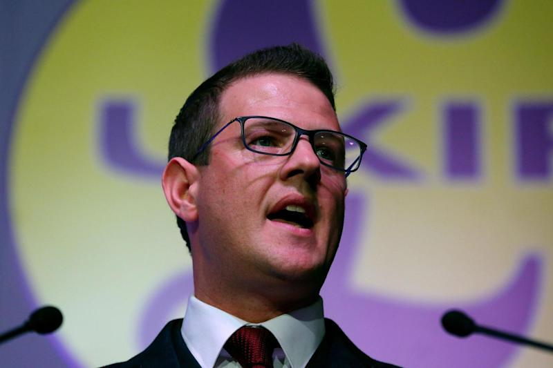 Ukip: Chairman Paul Oakden has resigned in the latest indication of the chaos within the party: PA
