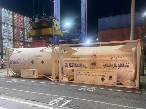 7 ISO tankers with 20 MT Liquid Medical Oxygen (LMO) each arrive at Mundra Port (India)