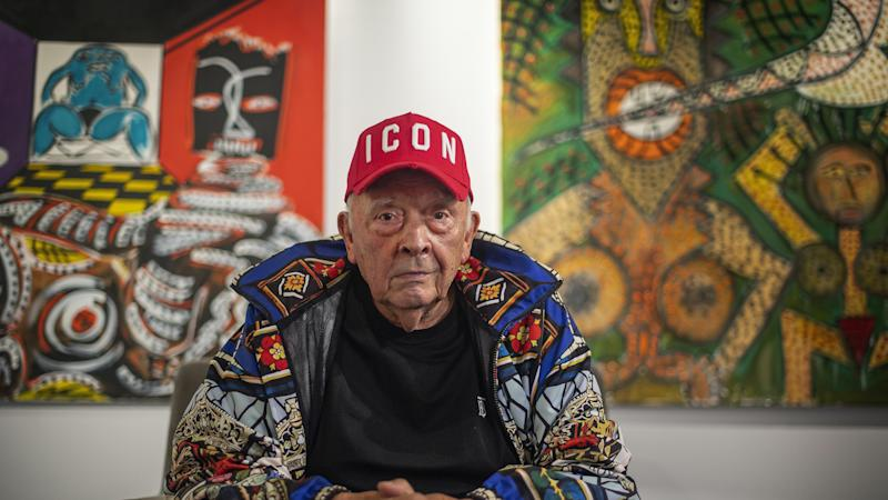 In Video: Photographer David Bailey unveils oil paintings