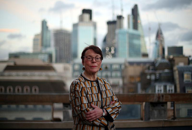 Catherine McGuinness, Chairman of the Policy and Resources Committee of the City of London Corporation, poses for a photograph in London