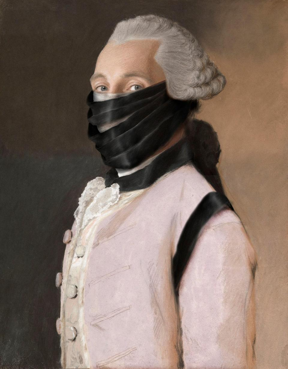 Based on a portrait of Joachim Rendorp by Jean-Étienne Liotard, 1757.