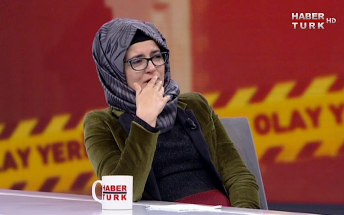 "Hatice Cengiz, a Turkish academic researcher, said in a statement. ""If the crown prince is not punished, it will forever endanger us all and be a stain on our humanity"" - AP"