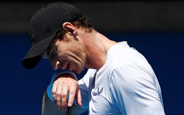 Murray is due to play Roberto Bautista Agut in a match that could represent his last appearance on the professional tour - REUTERS