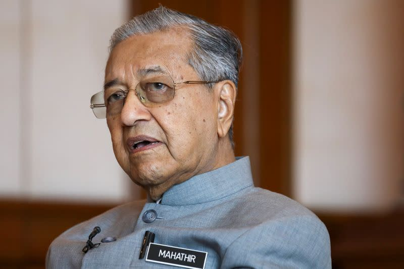 Malaysian PM Mahathir sends resignation letter to king: sources