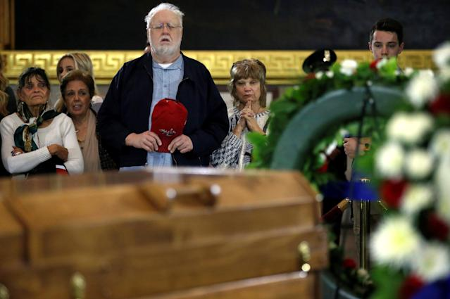 <p>Members of the public pay their respects to the late U.S. evangelist Billy Graham as he lies in honor in the Rotunda of the U.S. Capitol in Washington, Feb. 28, 2018. (Photo: Leah Millis/Reuters) </p>