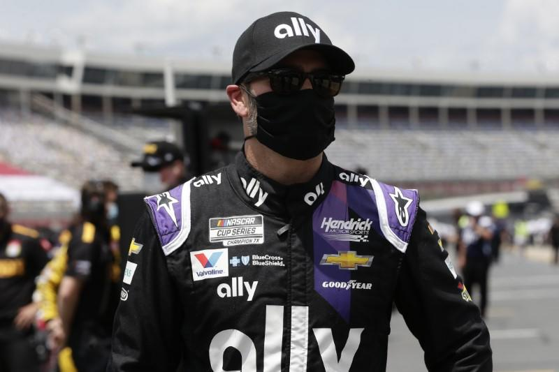 Johnson partners with IndyCar's Chip Ganassi Racing