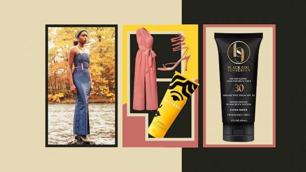 PHOTO: Check out black-owned beauty and fashion brands to support now and forever. (ABC News Photo Illustration, William Okpo, DIARRABLU, Brother Vellies, Pattern Beauty, Black Girl Sunscreen)