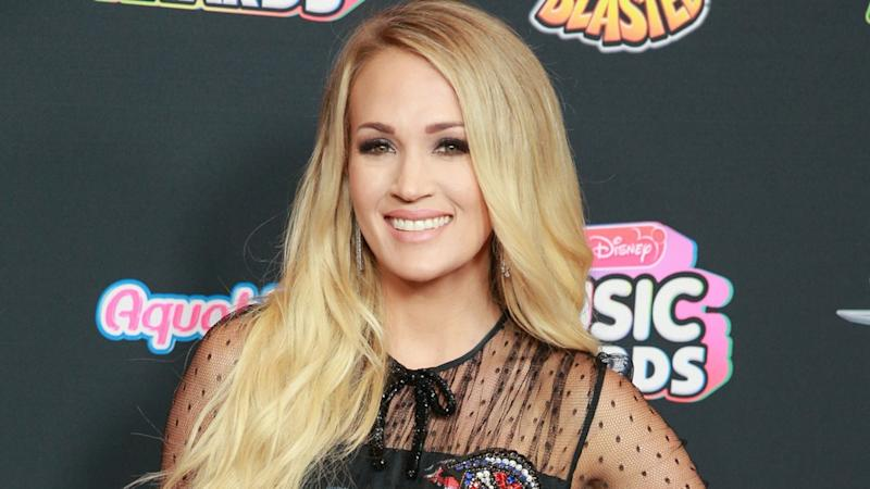 The 'Cry Pretty' singer gets candid on her scary fall at her home in Nashville last year.