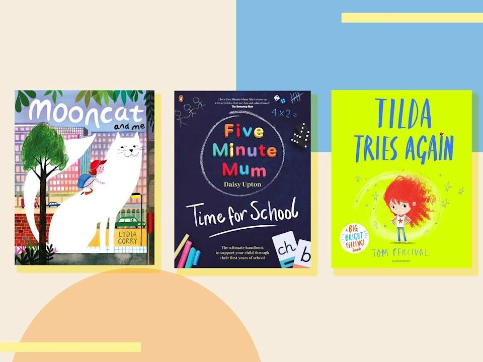 Calm those first day nerves with a choice of gorgeous illustrations, fun activities and encouraging storylines   (iStock/The Independent )