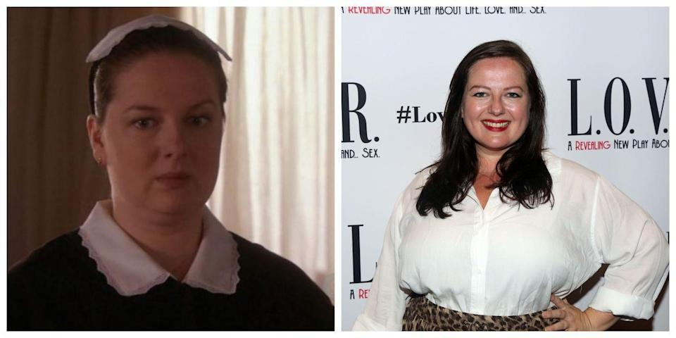<p>As Blair Waldorf's maid/assistant (and also maybe her closest and only true friend) on <em>Gossip Girl</em>, Dorota always looked exactly the same: hair pulled tightly back in a black and white outfit. But in real life, Zuzanna Szadkowski looks much more laid-back, stylish, and radiant. </p>