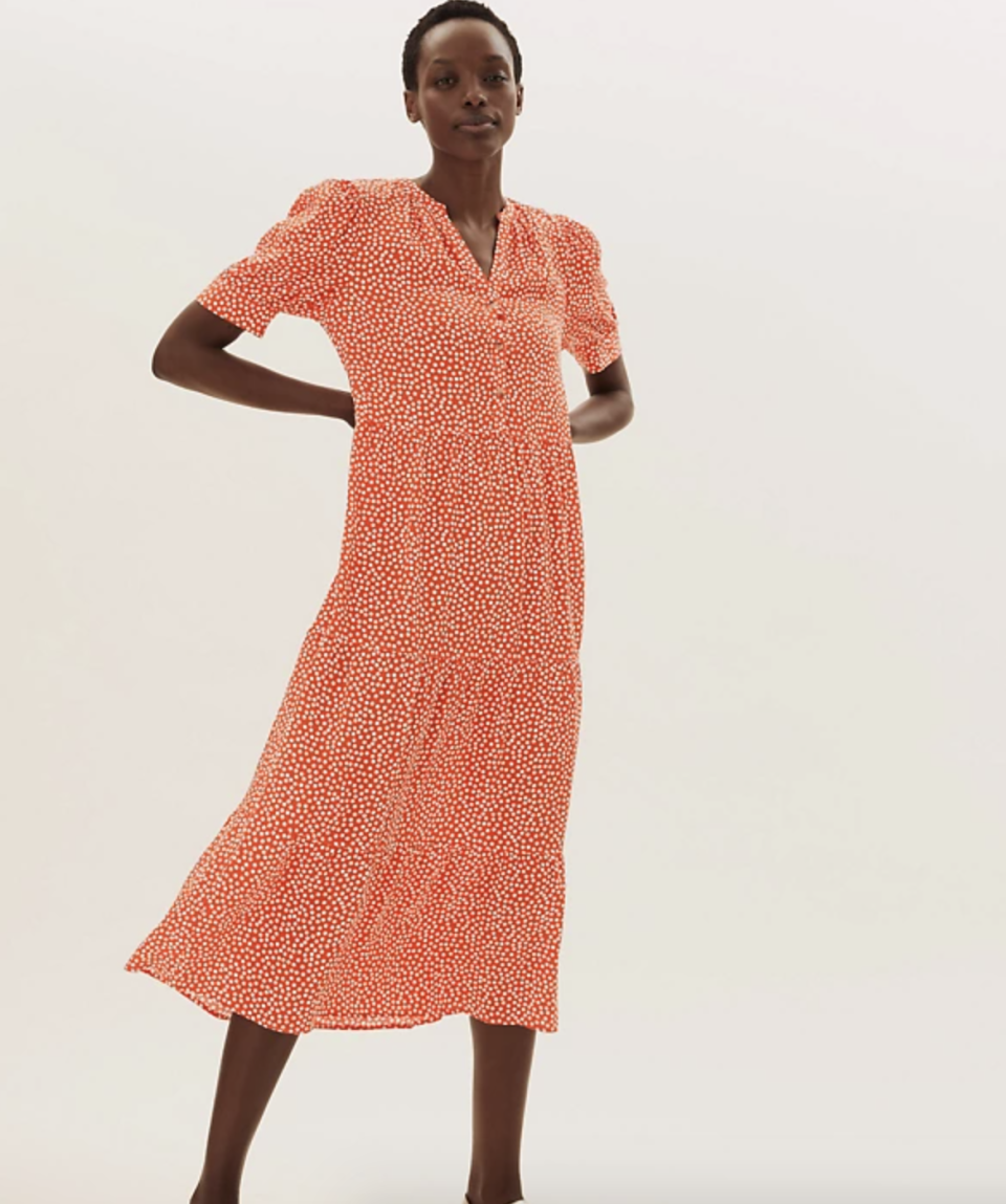 The lightweight statement number is a perfect summerw wardrobe addition. (Marks & Spencer)