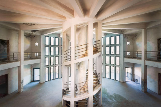 <p>Often a lot of craftsmanship was involved into constructing or decorating the building. (Photo: Roman Robroek/Caters News) </p>