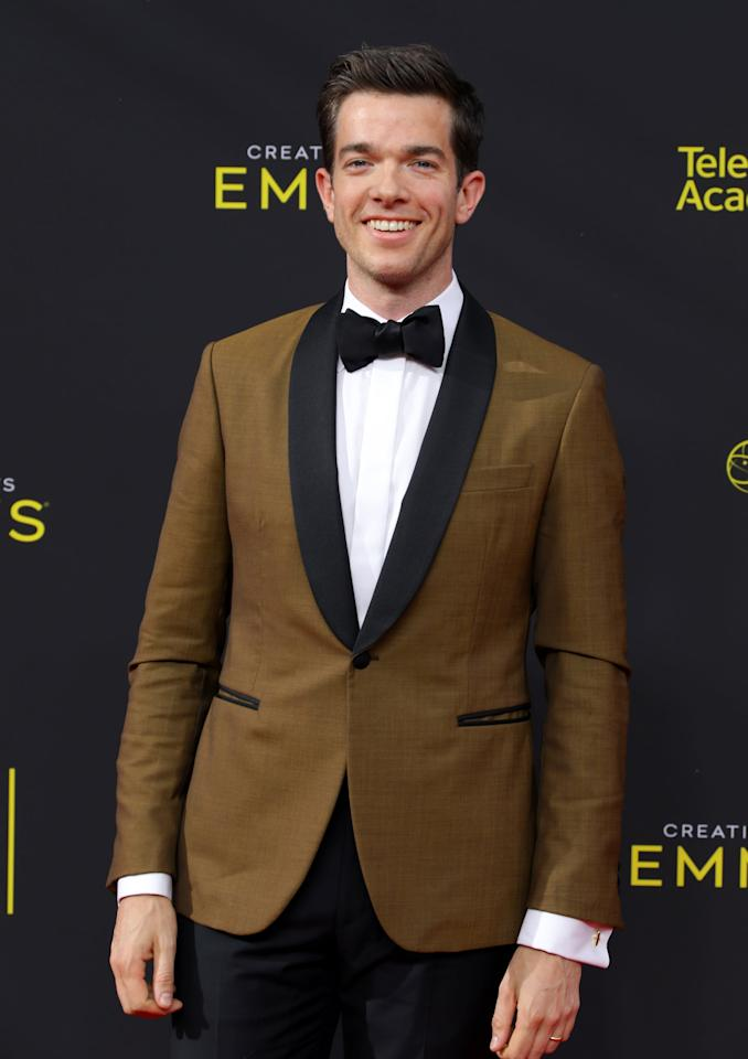 "<p>Mulaney appears as Thoreau, who's famous for his book about a simple life in nature, <strong>Walden</strong>, and for his essay ""Civil Disobedience."" </p>"