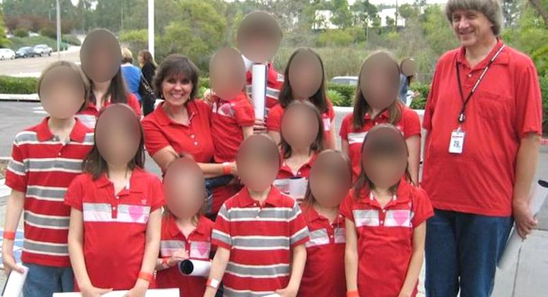Police say the Turpin children were living in 'horrific' conditions