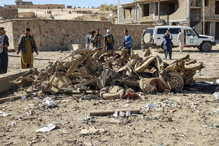 A car bomb in Ghor province killed at least 12 civilians and wounded more than 100 on October 18, officials said