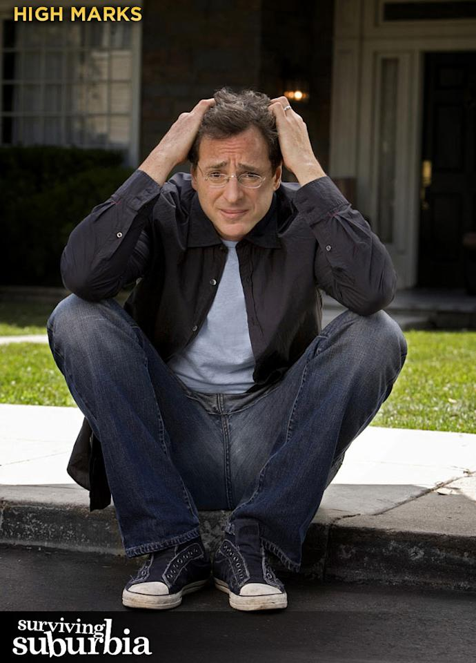 "HIGH MARKS: Forget ""Full House."" Bob Saget is a funny guy."