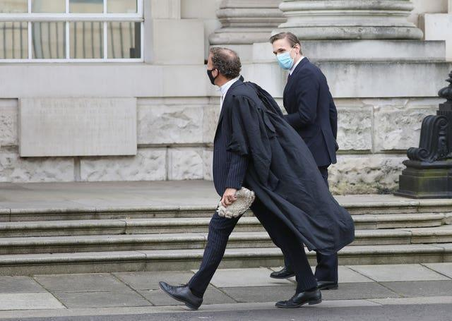 Christian Jessen and a lawyer