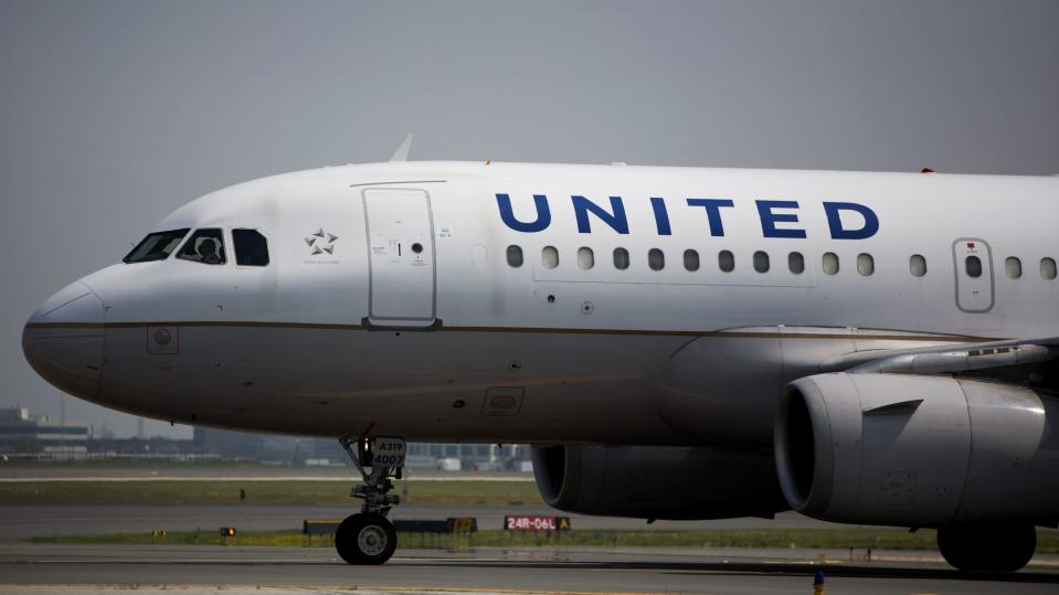 A United Airlines plane (Getty Images)