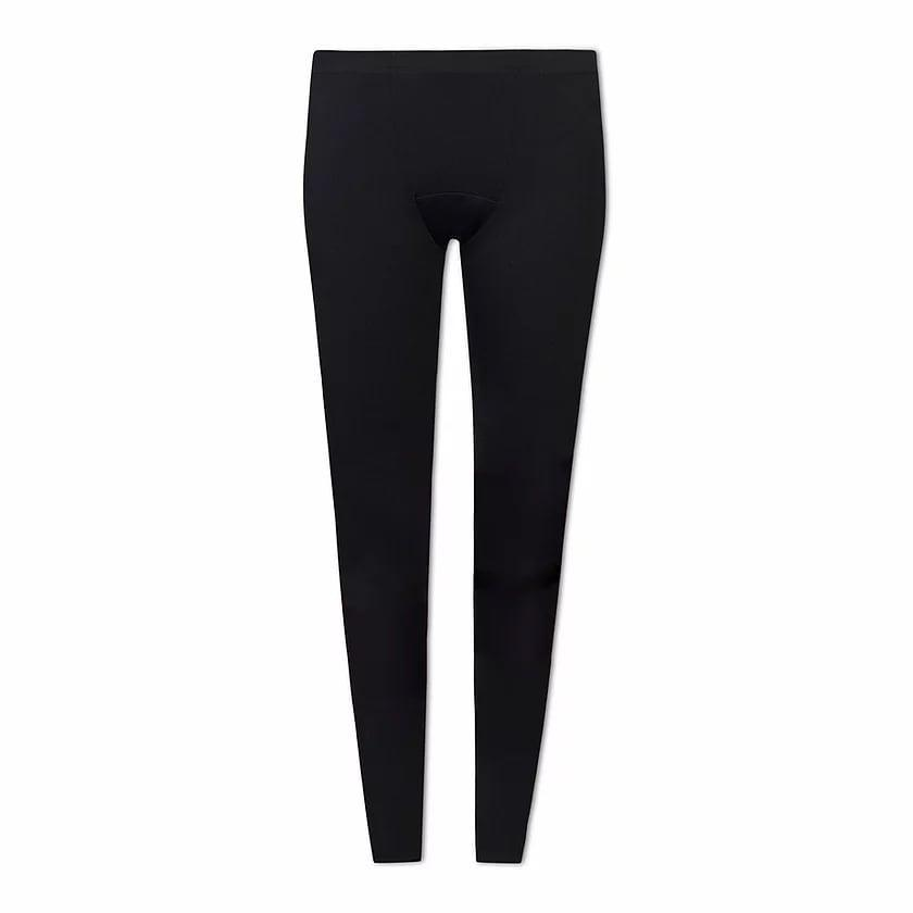 <p><span>Ruby Love Period Leggings</span> ($50) feature a full-length leg and a waistband that hits just below the naval. The brand notes that these black leggings are made with a leak-proof liner consisting of two layers of 100 percent absorbent cotton and a dri-tech mesh that can be worn alone or with another menstrual care product. The webpage doesn't note exactly how much liquid they absorb. So if you're nervous about wearing them to the gym on your period, consider giving them a test-run during an at-home workout first.</p>