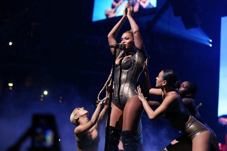 Beyoncé performs at the Tidal Philanthropic Festival. (Photo: Getty Images)