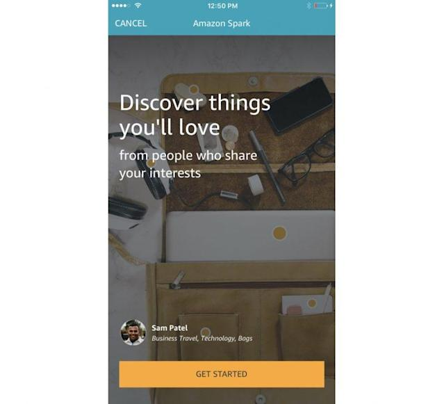 Amazon's Spark is a social network that for spending cash.