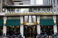 """<p>With their Surf 'n Turf menu, even the pickiest of eaters will find something they like at McCormick & Schmick. At <a href=""""https://www.mccormickandschmicks.com/reservations/"""" rel=""""nofollow noopener"""" target=""""_blank"""" data-ylk=""""slk:certain locations"""" class=""""link rapid-noclick-resp"""">certain locations</a>, they'll be open for dinner this Christmas.</p>"""