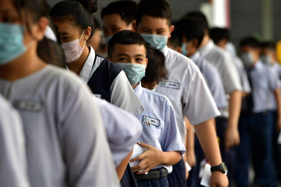 Since the Covid-19 pandemic arrived in Malaysia, schools have not been able to stay in session for more than half a year. — Bernama pic
