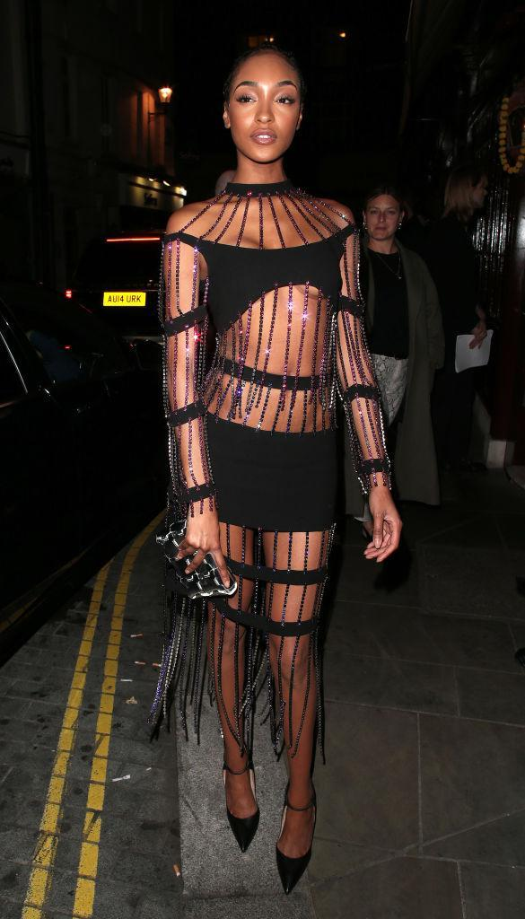 <p>Jourdann Dunn looked incredible at the LOVE magazine party during London Fashion Week on September 17. <em>[Photo: Getty]</em> </p>