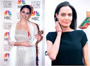 "<p>Angelina is even more of a stunner now compared to her ""Girl, Interrupted"" days. Subtler eye shadow and a more flattering hair colour allows her natural beauty to shine through. <i> (Photos: Getty) </i> </p>"