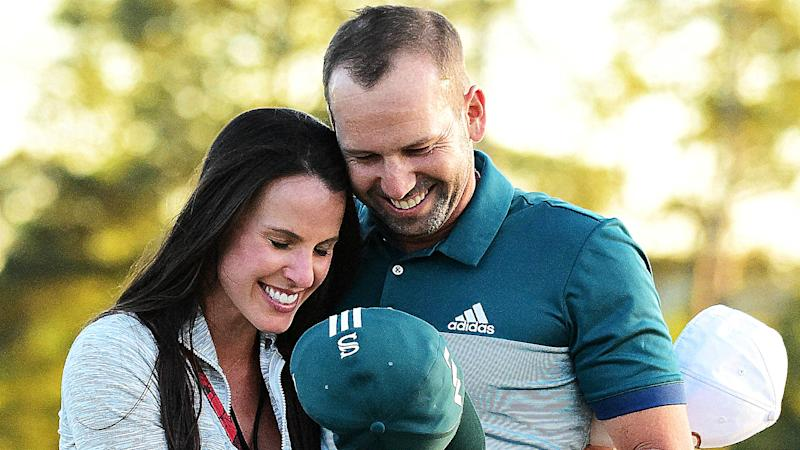 Sexist golf announcer under fire for leering at Sergio Garcia's fiancee