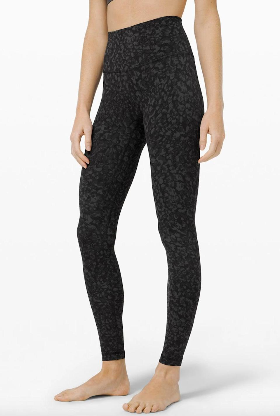 <p>Chances are you have already heard of the popular <span>Lululemon Align Leggings</span> ($98) and there's a reason for that. These leggings are made with the softest, stretchiest Nulu fabric that almost makes you feel like you aren't wearing anything. They are on the thinner side, so not the best for high-intensity exercise, but they're perfect for walking.</p>