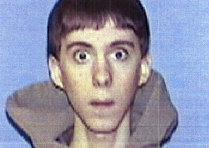 FILE - This undated identification file photo provided Wednesday, April 3, 2013, by Western Connecticut State University in Danbury, Conn., shows former student Adam Lanza. Lanza, who carried out the shooting massacre at Sandy Hook Elementary School in December 2012, apparently called a radio station a year earlier to discuss the 2009 mauling of a Connecticut woman by a chimpanzee. (AP Photo/Western Connecticut State University, File)
