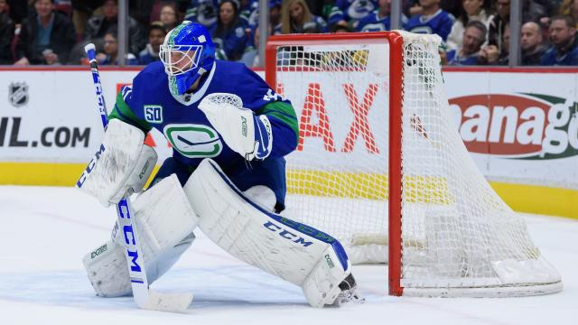 Don't sleep on Jacob Markstrom and the Vancouver Canucks. (Derek Cain/Icon Sportswire)