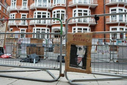 Julian Assange, an Australian national, has been holed up in Ecuador's London embassy since June