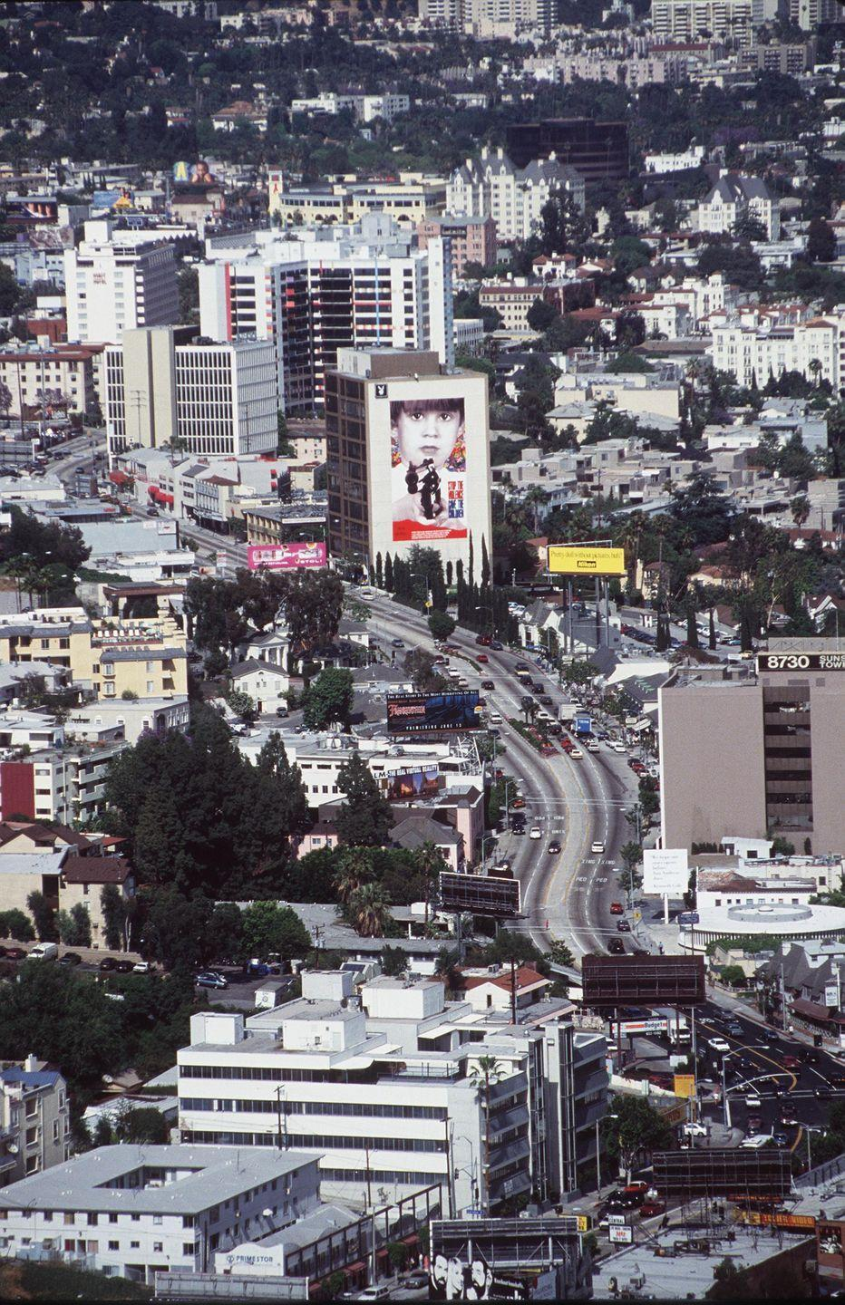 <p>The view of the Sunset Strip from a helicopter. <br></p>