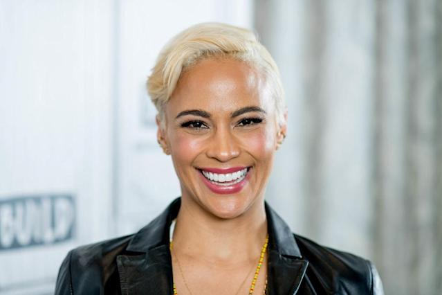 "<p>The actress traded in her lovely brown waves for a fun blond pixie in April. She showed off the new hairstyle as she promoted a new movie and <a href=""https://people.com/movies/paula-pattons-boyfriend-says-he-and-his-wife-were-separated-before-dating-the-actress/"" rel=""nofollow noopener"" target=""_blank"" data-ylk=""slk:went public with her new boyfriend"" class=""link rapid-noclick-resp"">went public with her new boyfriend</a>. Meanwhile, her ex-husband, Robin Thicke, was experiencing new beginnings of his own, as his daughter with girlfriend April Love Geary was just born in February. Was Patton feeling young and free by comparison? (Photo: Getty Images) </p>"