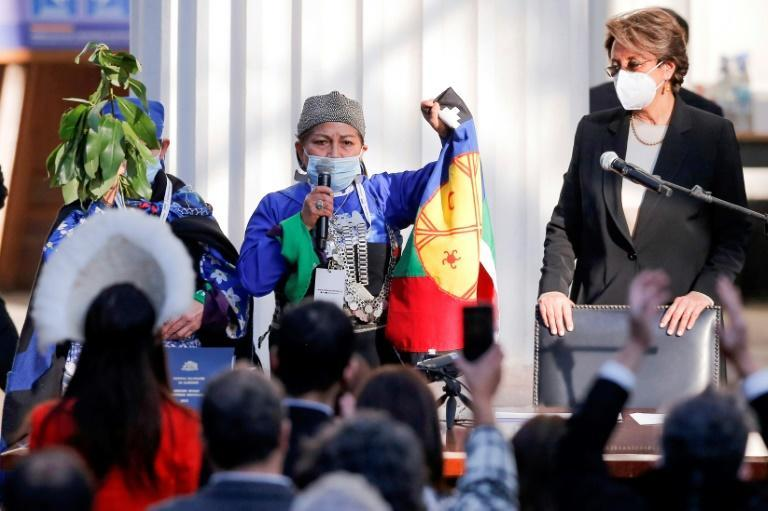 Elisa Loncon, a 58-year-old independent from the majority Mapuche people, has been elected head of the body leading the writing of Chile's new constitution