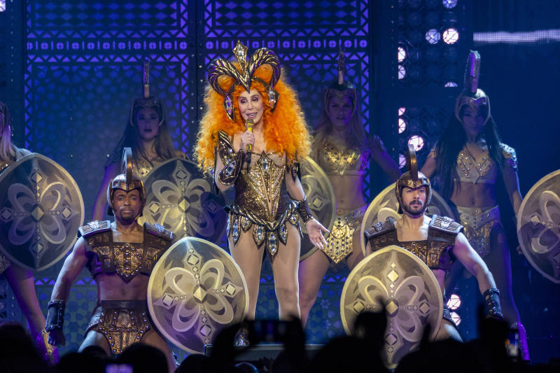 DETROIT, MI - FEBRUARY 12: Cher performs during her 'Here We Go Again' tour at Little Caesars Arena on February 12, 2019 in Detroit, Michigan. Photo: James Peyton/imageSPACE/MediaPunch /IPX