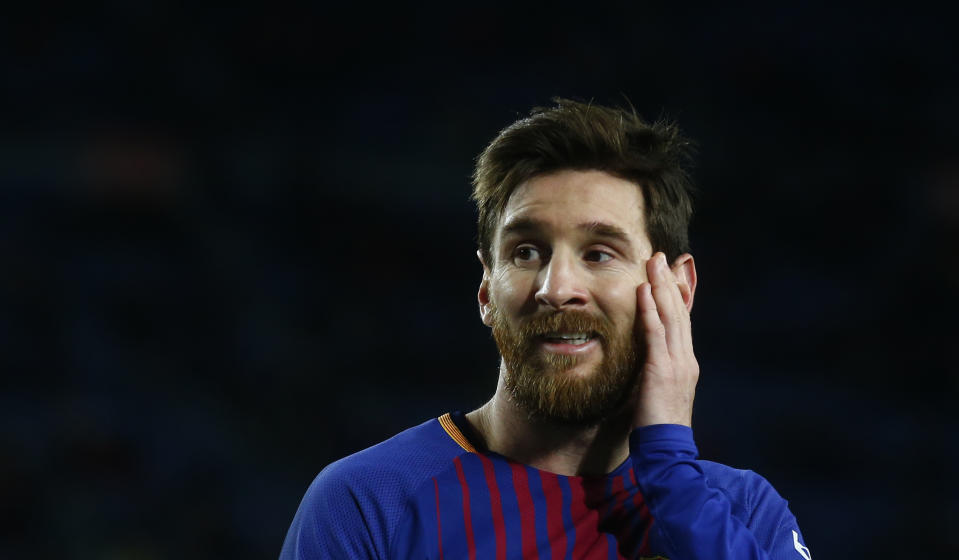 Lionel Messi and Barcelona were magical together, but the ending is getting ugly. (AP Photo/Manu Fernandez)